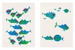 Die kleinen bunten Fische