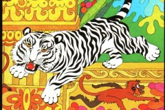Der schwarz weisse Tiger o.J.
